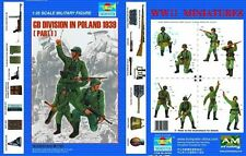 TRUMPETER GERMAN PANZER DIVISION POLAND 1939 SET.1 Scala 1:35 cod.00402