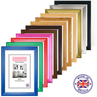 A1 A2 A3 A4 A5 Black Photo Frames White Picture Poster Frame ALL COLOUR SIZES