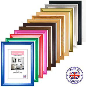 A1 A2 A3 A4 A5 Picture Frames Black White Photo Poster Frame Pink Red Oak Pine