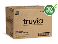 Truvia Natural Stevia Sweetener Packets, Net Wt. 70.5 oz, 1000 Count Pack of 1