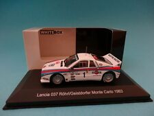 LANCIA 037 #1 - ROHRL - RALLY MONTE CARLO 1983 - 1/43 NEW IXO WHITEBOX WBR002