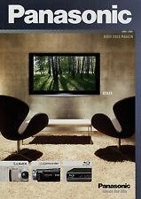 Catalogo Panasonic Audio Video rivista 2008 2009 TV Cuffie Camcorder DV