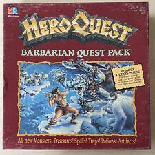 HeroQuest Barbarian Quest Pack in OVP *lesen* Hero Quest