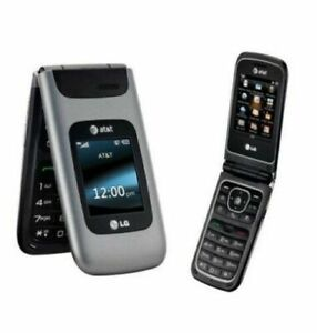 LG A340 - Gray - (AT&T) Flip Phone Unlocked T-Mobile
