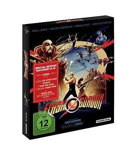 Flash Gordon - Special Edi. in 4K Restauriert [Blu-ray + 2 Bonus Disc/NEU/OVP]