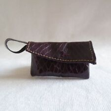 New Barbie Style Glam Raquelle Doll Faux Leather Purple Purse ~ Bag