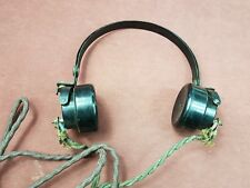 Vintage Radio Headphones..DLR2 Military headphones, wireless (lot 1)