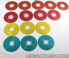 ✅ Verbatim LightScribe CD-R Lot of 15 Color Background 52X 80Min 700MB