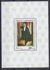Postfrische Briefmarken aus der Türkei mit Politiker-Motiv