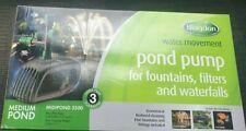 Blagdon Garden Medium Pond Fountaine Water Pump Midipond 3500