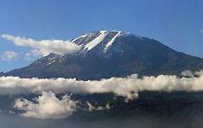 Framed Print - Mount Kilimanjaro Tenzania (Picture Poster Snow Mountain Art)