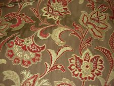 """~23 3/8 YDS~TREND """"BRANDYWINE"""" FLORAL~EMBROIDERED UPHOLSTERY FABRIC FOR LESS~"""