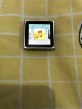 Apple iPod Nano 6th Generation Silver 8GB