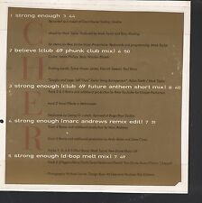 CHER 5 TRACK CD Single as pictured