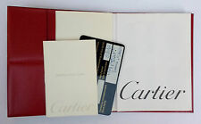 Montres Must de CARTIER COVER & INTERNATIONAL GUARANTEE & INSTRUCTION & CONTACT
