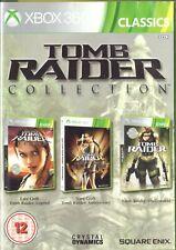 Tomb Raider Collection Microsoft Xbox 360 12+ Action Adventure Game