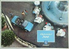 Peugeot 306 Cabriolet Sales Brochure - April 1994