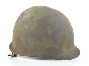Original Korean War Motor Wheel Corp. U.S. M1 Helmet Shell 1951-1953 (Post-WW2)