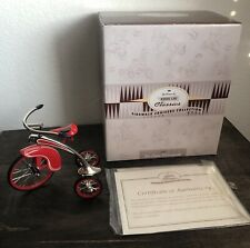 Hallmark Kiddie Car Classic Sidewalk Cruisers Collection 1937 De Luxe Velocipede