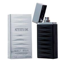 Giorgio Armani Attitude 75ml Eau De Toilette Spray Sealed Box Discontinued Rare