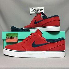 Nike SB Zoom Stefan Janoski UK9 333824-613 EUR44 US10 Suede Red max koston bruin