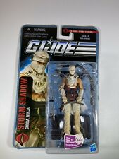 "GI Joe POC Pursuit Cobra Storm Shadow 1004 30th Anniversary 3.75"" Figure New V39"
