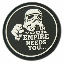 Your Empire Needs You Stormtrooper Star Wars PVC Klett Emblem Abzeichen