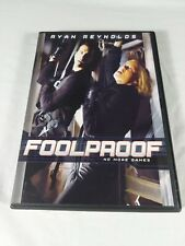 Foolproof DVD (RARE-OOP-2003) Reynolds, Booth - Free Shipping