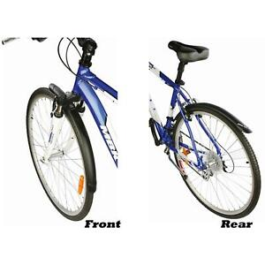 Zefal Trail Hybrid / City 700c 45mm Bike Front and Rear Mudguard Set