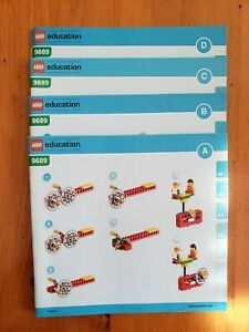 Lego Instruction Manual 9689 - simple machines(Manuals only, no bricks included)