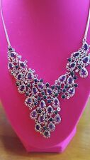 """WHOLESALE! Opal,Amethyst, Diopisde, Sapphire,925 Sterling Silver Necklace 20"""""""