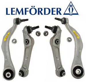 Front Lower Control Arm Kit Lt & Rt 4pc OEM Lemforder BMW 528i 535i 550i 640 650