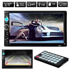 7'' HD Bluetooth Car Stero USB 2.0 Touch Scren 2 Double DIN FM MP5 USB AUX TF