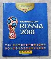 Panini 2018 FIFA World Cup Russia Empty Sticker Album AUSTRIAN COCA COLA Edition