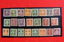 China Mengchiang 1941-45, Group of 23 Different Stamps unused