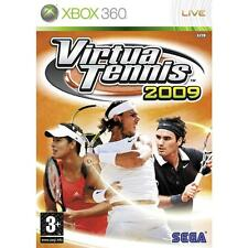 Pal version Microsoft Xbox 360 Virtua Tennis 2009