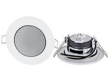 Decke Einbaulautsprecher Metall - Klemm-Technik - Decken Einbau Lautsprecher