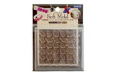 PADICO Soft Mold UV Resin & Clay Alphabet Script