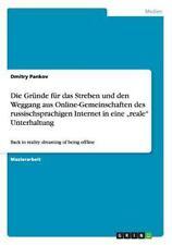Die Gr�nde f�r das Streben und den Weggang aus Online-Gemeinschaften des...