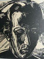 Ernst-Ludwig Kirchner - Frauenkopf, Holzschnitt