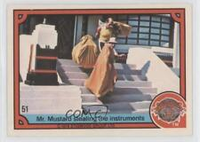 1978 #51 Mr Mustard stealing the instruments Non-Sports Card 1g9