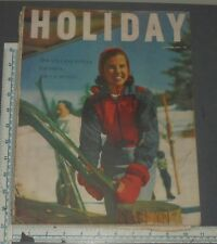 HOLIDAY MAGAZINE 1954 FEBRUARY JAMAICA CALIFORNIA BAGDHAD JAPAN US SENATE