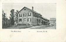 A View of the Brick Store, Acworth Nh 1908