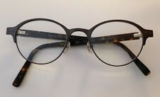 Jones New York Eyeglasses J347 Dark Gunmetal Tortoise Size 48-20-145