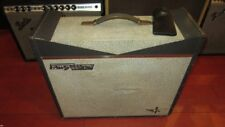 Vintage Original Farfisa Amplivox 18 Combo Amplifier Super Rare Grey And White