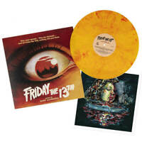 FRIDAY THE 13TH  Campfire Orange Vinyl LP, WAXWORK, SOLD OUT, OOP *NEW SEALED*