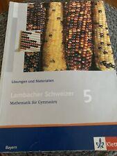 Lösungen und Materialien Lambacher Schweizer Mathematik 5 Klasse für Gymnasien