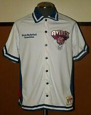Vintage Mens Avirex All American Varsity Sports NYC Warm Up Jersey (Size 16/18)
