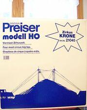 HO Preiser 21045 Krone Circus Big Top Tent Set 1:87 scale MODEL KIT