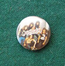 Anthrax Pin Badge - American Music Memorabilia - Heavy Metal